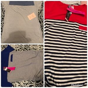 Tops - Lot of 3 NWT MATERNITY BLOUSES SIZE LARGE